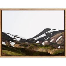 Icelandic Hills Canvas Wall Art