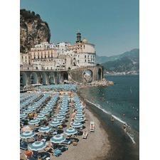 Italian Summer Canvas Wall Art