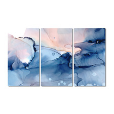 Sundance Stretched Canvas Wall Art Triptych