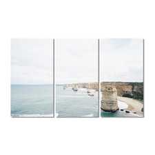 Twelve Apostles Stretched Canvas Wall Art Triptych