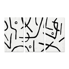 Stark Stretched Canvas Wall Art Triptych