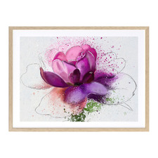 In Bloom Printed Wall Art