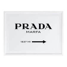Prada Marfa Printed Wall Art
