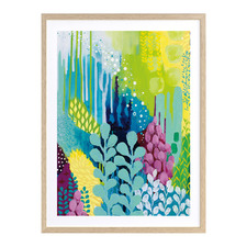 Octopus Garden II Printed Wall Art