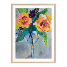 Bright Blossoms I Printed Wall Art