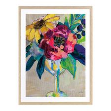 Bright Blossoms III Printed Wall Art