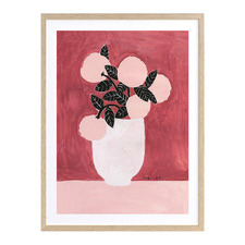 Pretty In Pink II Printed Wall Art