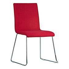 Soho Plus Red Fabric Chair (Set of 4)