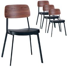 Maddie Walnut Chair (Set of 4)