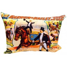 Barnum and Bailey Cushion Cover