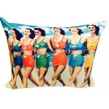 Bikini Girls Cushion Cover