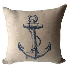 Anchor Cushion with Piping