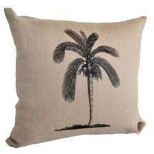 Palmtree Cushion with Piping