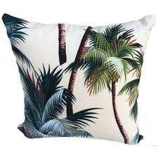 Palm Tree Cream Cushion