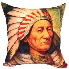 Sitting Bull Cushion Cover