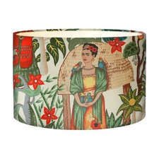 Frida's Garden Natural Lampshade