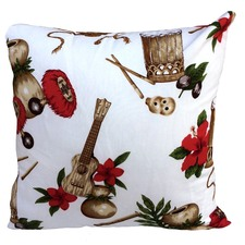Hawaiian Bongo Cushion
