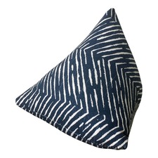 Indigo Chevron Door Stop