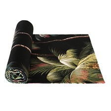 Palm Tree Black Bed/Table Runner