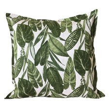 Summer Leaves Linen Cushion