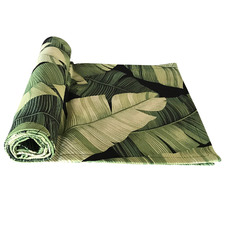 Banana Leaf Cotton Table Runner