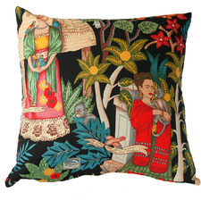 Frida's Garden Cotton Cushion