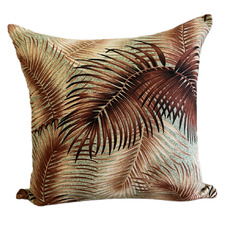 Bronze Palm Cotton Cushion