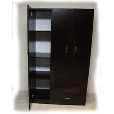 3 Door and 2 Drawer Wardrobe