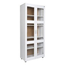 Tall Hannah 2 Door Display Cabinet