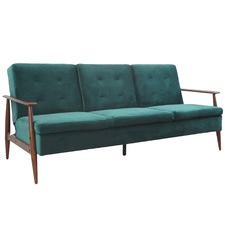 Teal Lindy Sofa Bed