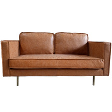 Bondi 2 Seater Faux Leather Sofa