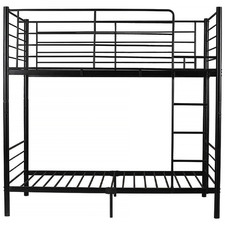Black City Metal Bunk Bed