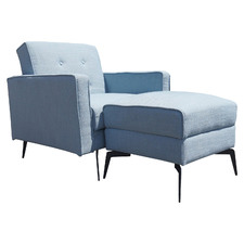 Carina Single Sofa Bed with Ottoman