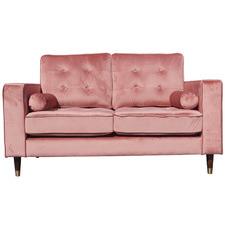 Pink Cherry 2 Seater Velvet Sofa