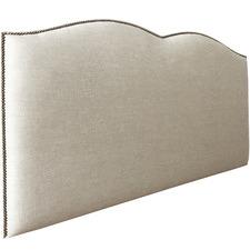 Frost Plain Upholstered Heart Bedhead