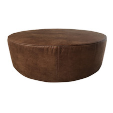 Eastwood Faux Leather Ottoman