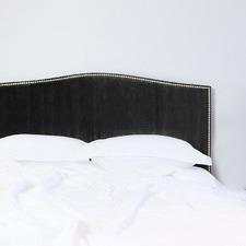 Velvet Gold Studded Bedhead