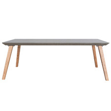 Breindel Blackbutt Wood & Concrete Coffee Table