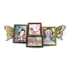Butterfly Wings Art Collage / Frames