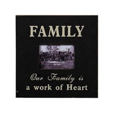Vintage Rustic Style Family Photo Frame