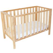 Babyhood Mali New Zealand Pine Wood Convertible Cot