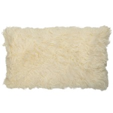 White Jacob Sheepskin Cushion