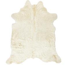 Cream Luxury Cow Hide Rug