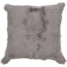 Grey Himalayan Goatskin Cushion