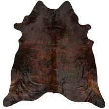 Dark Exotic Cow Hide Rug