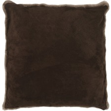 Chocolate Suede Cushion
