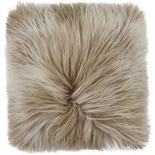 Beige Himalayan Goat Skin Cushion