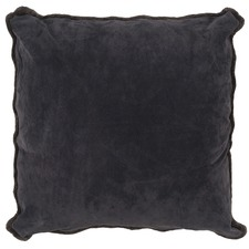 Suede & Lambswool Cushion