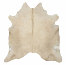 Gold Champagne Cowhide Rug
