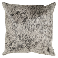 Black & White Cowhide Cushion